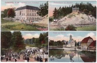 Postkarte Endschütz 1903