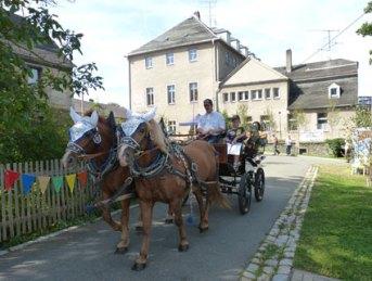 3. Rittergutsfest in Kleingera vom 07.-09.09.2012