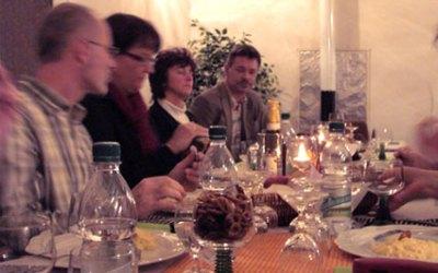 Weinverkostung am 13.11.2010