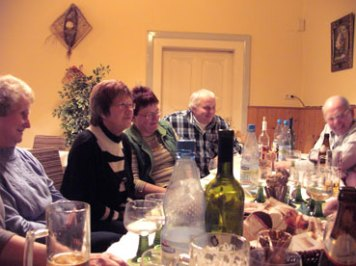 Weinverkostung im Rittergut am 11.11.2011