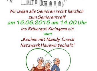 Seniorentreff am 15.06.2015