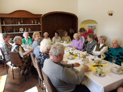 2. Seniorentreff im Rittergut am 19.05.2014