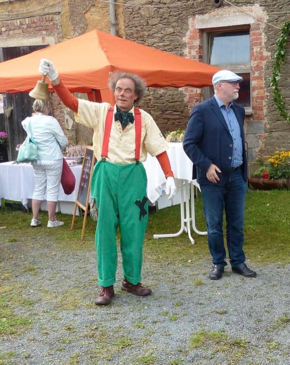 Buntes Marktreiben am 11. September 2021 im Rittergut Kleingera