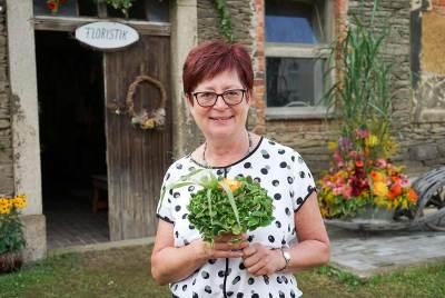 Ein herzliches Dankeschön - Rosalie Brandt Floristikausstellung Kleingera