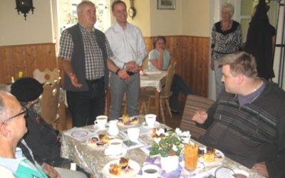 SPD Ortsverein Elstertal besucht das Rittergut 21.07.2012