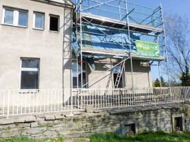 bilder dachsarnierung am herrenhaus ( anbau) rittergut kleingera 2015 18