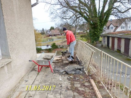 Durchgeführte Erhaltungsmaßnahmen am Herrenhaus Rittergut Kleingera 2017 02