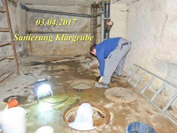 Durchgeführte Erhaltungsmaßnahmen am Herrenhaus Rittergut Kleingera 2017 07