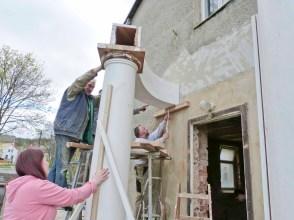 Durchgeführte Erhaltungsmaßnahmen am Herrenhaus Rittergut Kleingera 2017 17