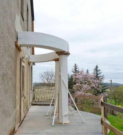 Durchgeführte Erhaltungsmaßnahmen am Herrenhaus Rittergut Kleingera 2017 18