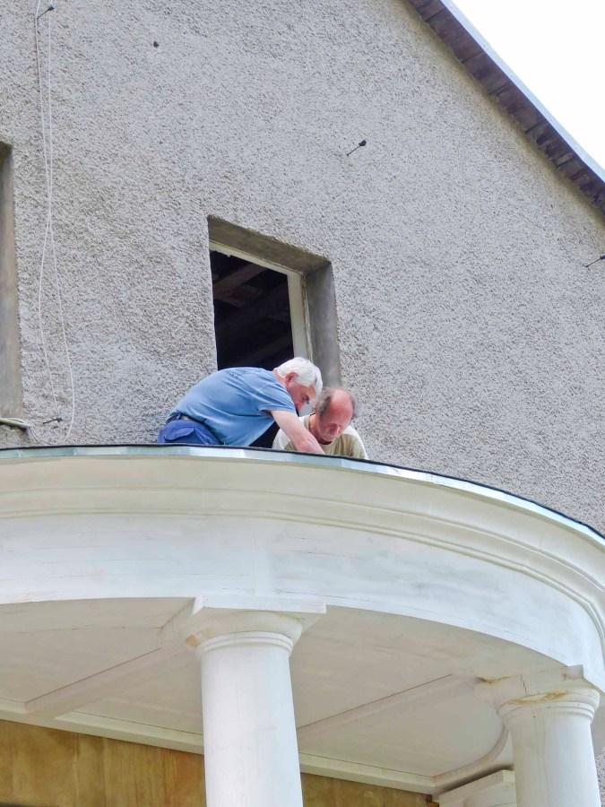 Durchgeführte Erhaltungsmaßnahmen am Herrenhaus Rittergut Kleingera 2017 28