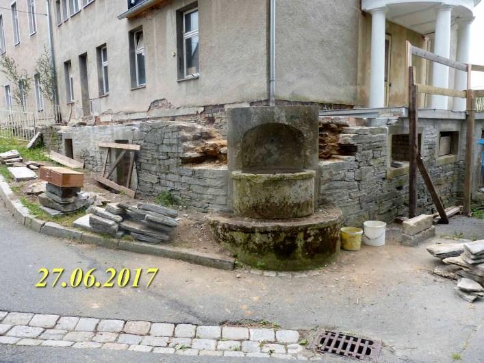 Durchgeführte Erhaltungsmaßnahmen am Herrenhaus Rittergut Kleingera 2017 31