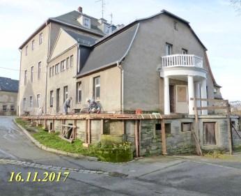 Durchgeführte Erhaltungsmaßnahmen am Herrenhaus Rittergut Kleingera 2017 38