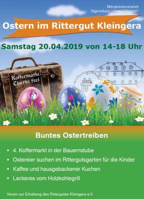 Ostern Rittergut kleingera 2019