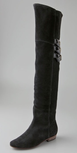 Joie Coachella Suede Above the Knee Boots