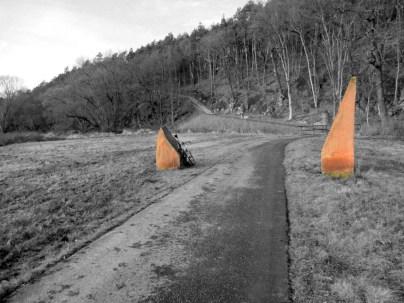 Mulderadweg bei Höfgen