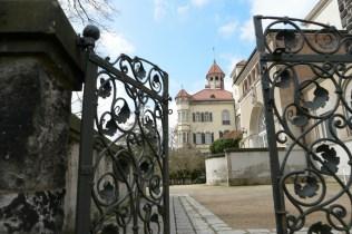 Schloss Waldenburg - Parkseite