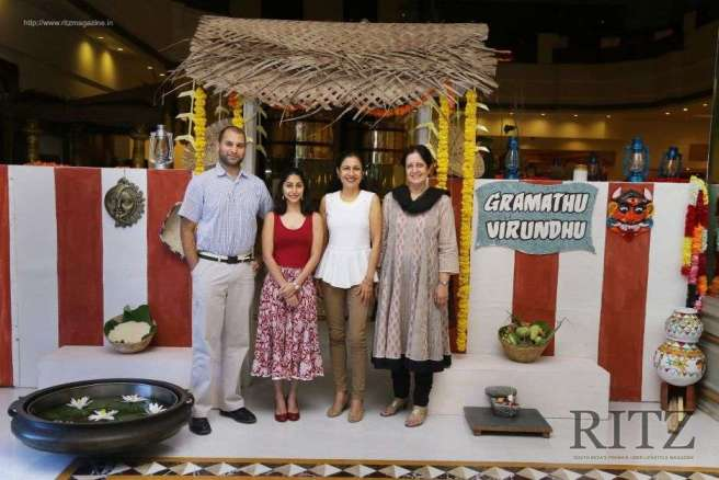 Vidya Singh Family Time At The Copper Point2