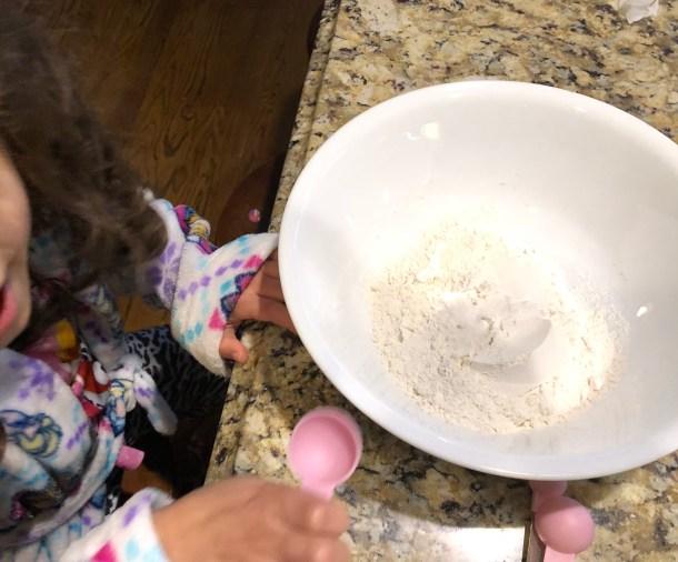 Adding baking powder to pancakes