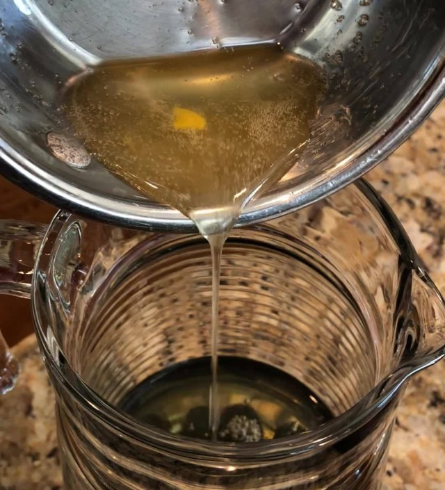 Add ginger simple syrup