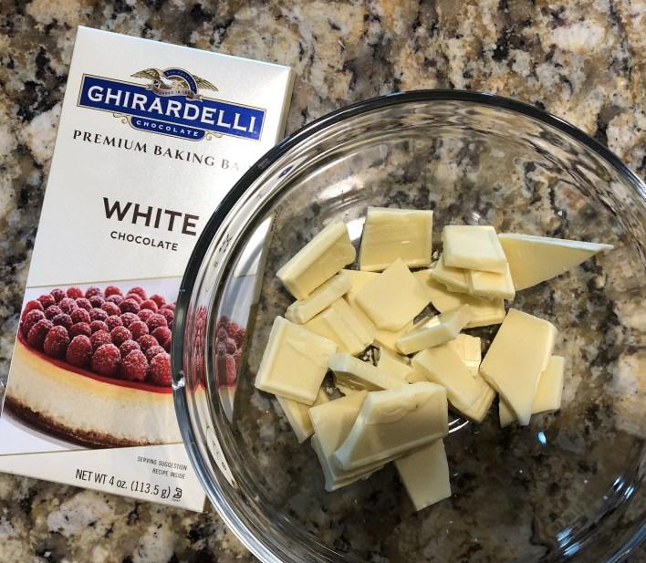 White baking chocolate