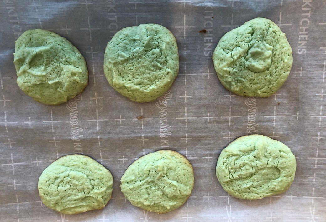 st. patrick's day green cookies