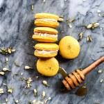 Chamomile Macarons