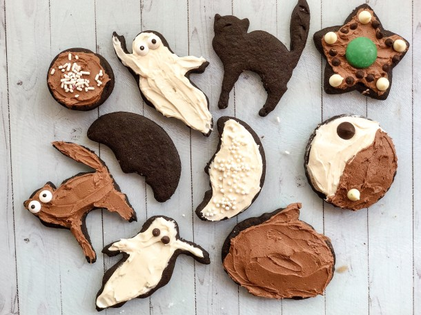 Chocolate Cutout Cookies Chocolate Sugar Cookies