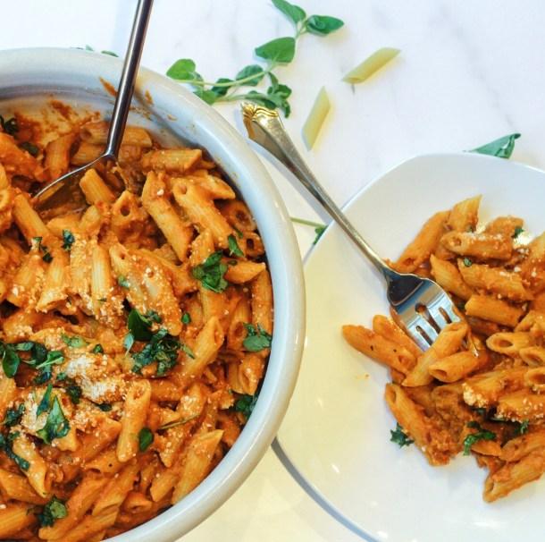 30 minute pumpkin pasta recipe