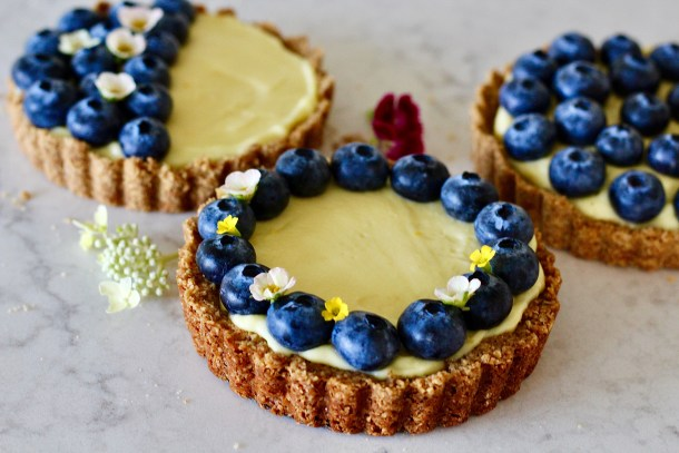 greek yogurt tarts