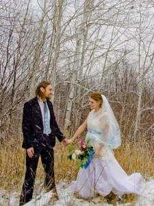 peaocck wedding