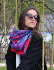 Flapper Girl Silk Scarf