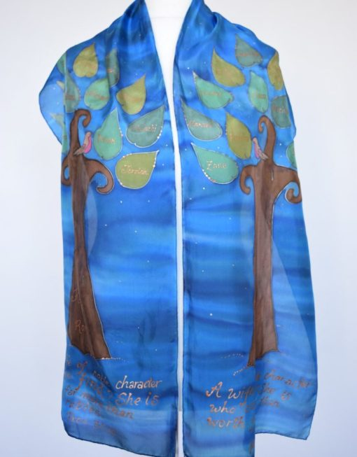 Family Tree Keepsake Scarf