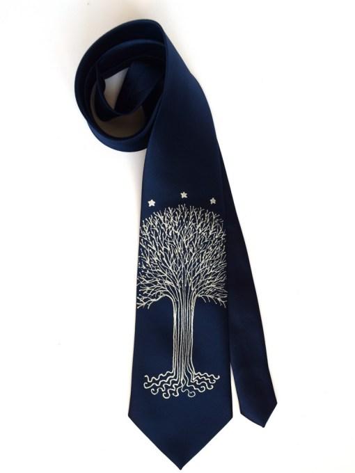 White Tree necktie