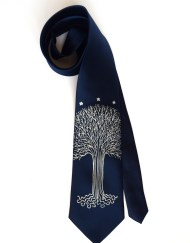 White Tree necktie