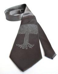 Oak tree Gray Tie