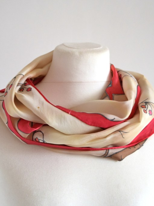 Red Cardinal Bird Scarf