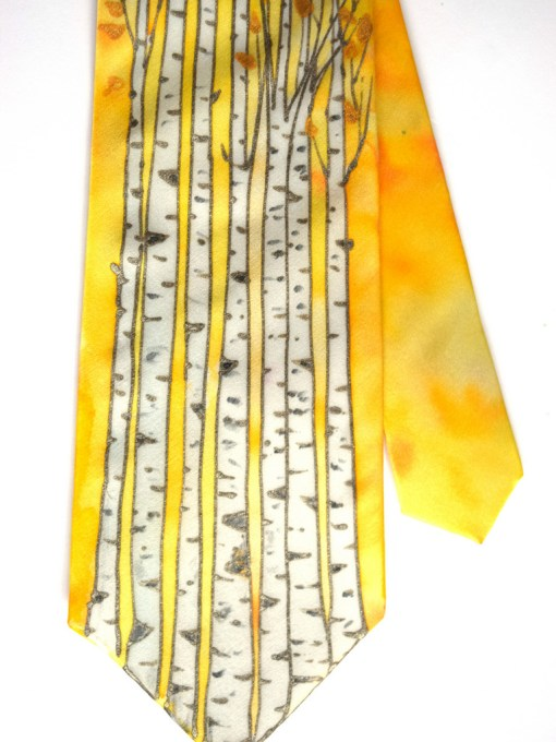 Birch Tree silk Tie