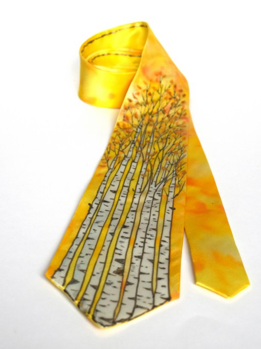 Birch Tree Tie