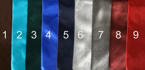 Personalized Name Ties