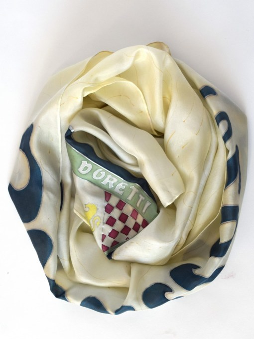 Doretti Swallow Sports Car Scarf for her