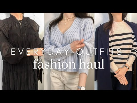 It's pretty and frantic, so be sure to try it!  H&M f/w Sale•New Daily Look Howl✨Recommended/Deprecated Unboxing One-Piece/Outer/Knit/Skirt H&M HAUL 2021