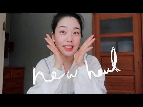 (Sponsor) In 2021, I bought a more beautiful homeware!  I Home Wear Haul I Garlic Kim