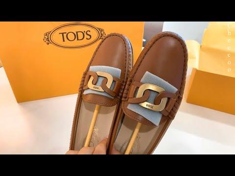 [英文] 2021年TOD'S皮革驾驶鞋  奇酷