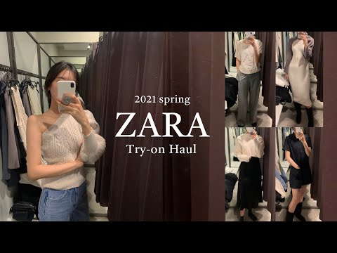 ZARAザラ春身上の着付け* 2021 Spring Try-on Haul