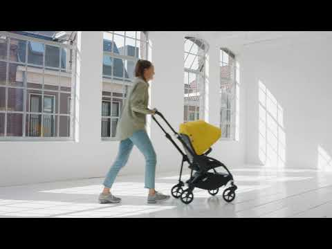 Bugaboo Bee 6 Demo: One-piece fold and self-stand
