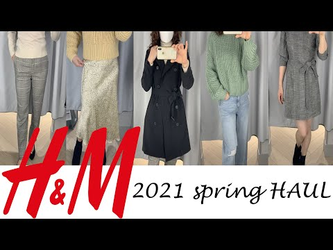 h&m spring haul    Spring new howl    Spring lookbook    Trench coat coordination    30s 50s coordination    H&M
