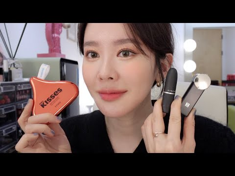 (eng,jap sub)[grwm] Daily make-up with new products of beautiful coral tone that naturally vitalizes