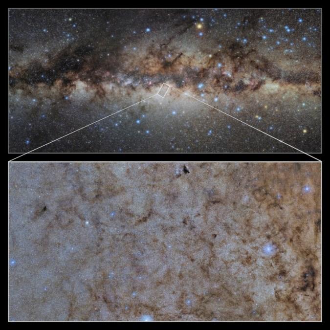 은하수의 신비가 스펙타클 한 디테일로 밝혀진다