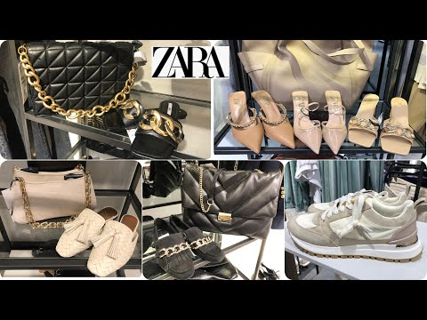 ZARA NEW COLLECTION SHOES & BAGS / FEBRUARY 2021